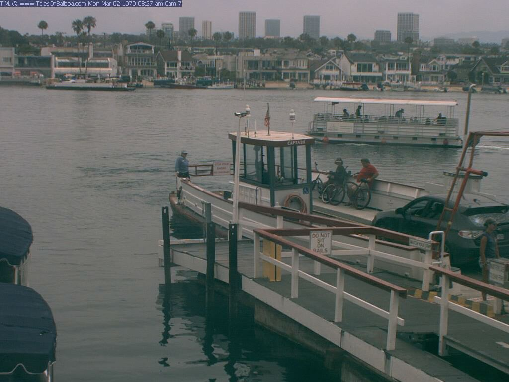 Balboa Ferry Webcam